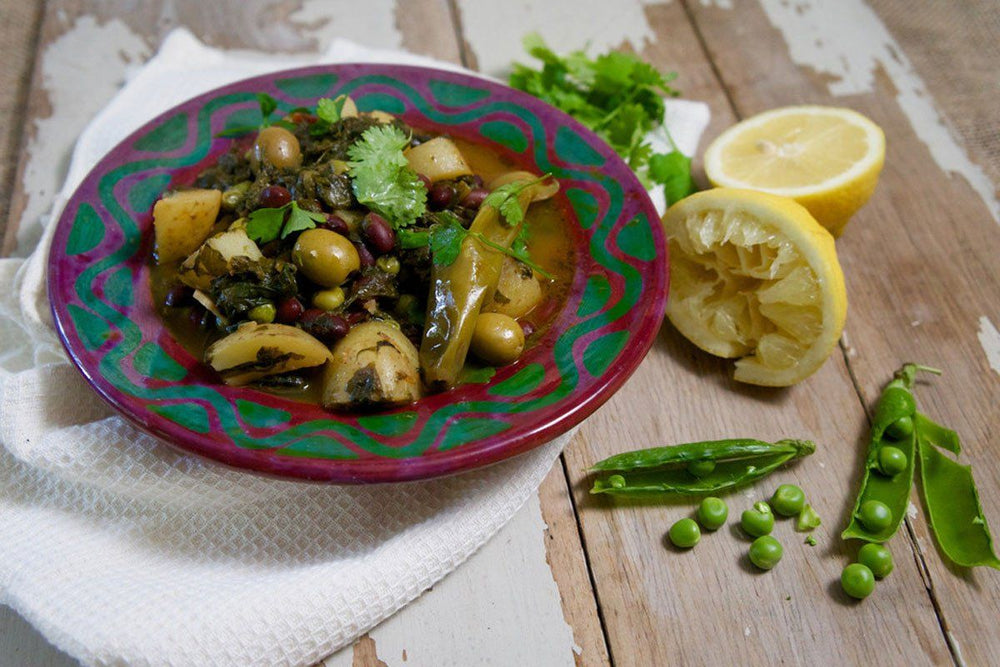 Berber Stew with Red Haricot Beans - Hodmedods British Wholefoods