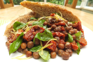 Rustic Black Badger Carlin Pea Salad