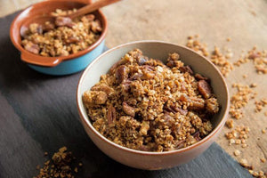 Gingerbread and Puffed Quinoa Granola