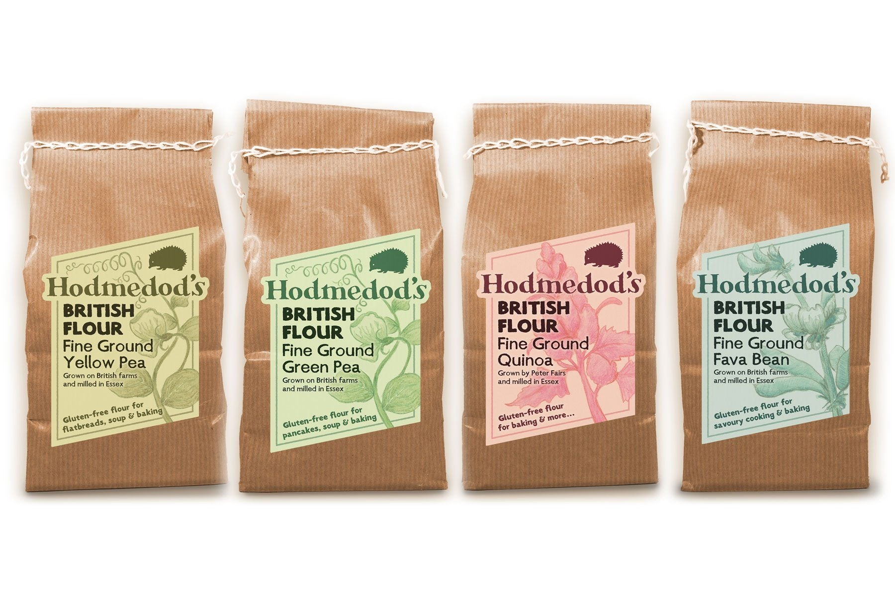 Gluten-free Flours with British Provenance