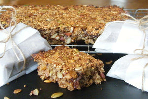 Quinoa and Barley Energy Bars