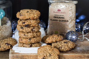 Quinoa and Mincemeat Cookies