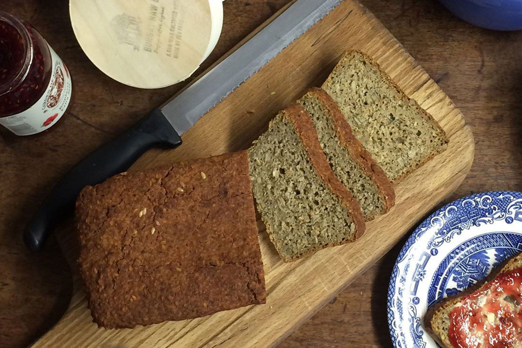 Quinoa, Pea and Multi-Seed Loaf