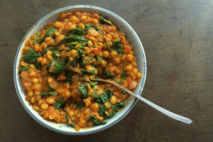 Dal Saag – Split Yellow Pea and Spinach Dal