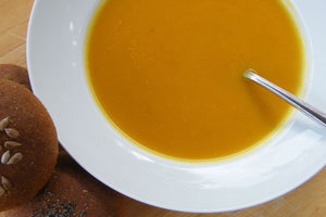 Squash and Fava Bean Soup
