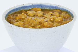 Gujarati Vaal Dhal - made with Split Fava Beans
