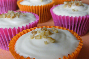 Vegan Mini Carrot Cakes
