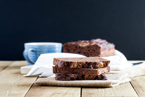 Double Chocolate Chia Banana Bread