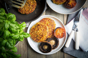 Yellow Pea Fritters