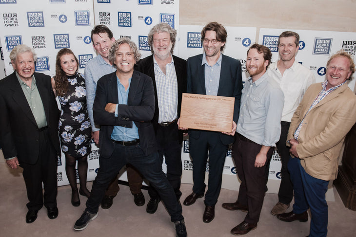 Hodmedod awarded Best Food Producer at BBC Food and Farming Awards 2017