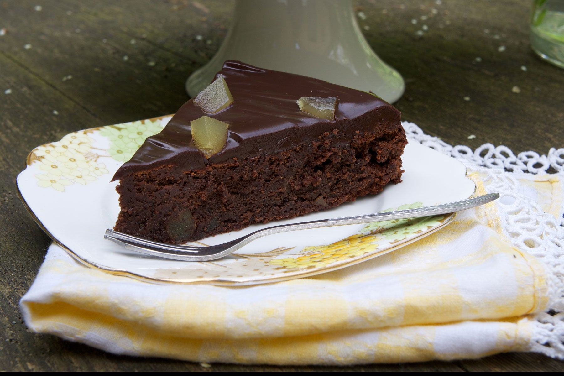 The Eating Tree's Carlin Pea and Chocolate Cake