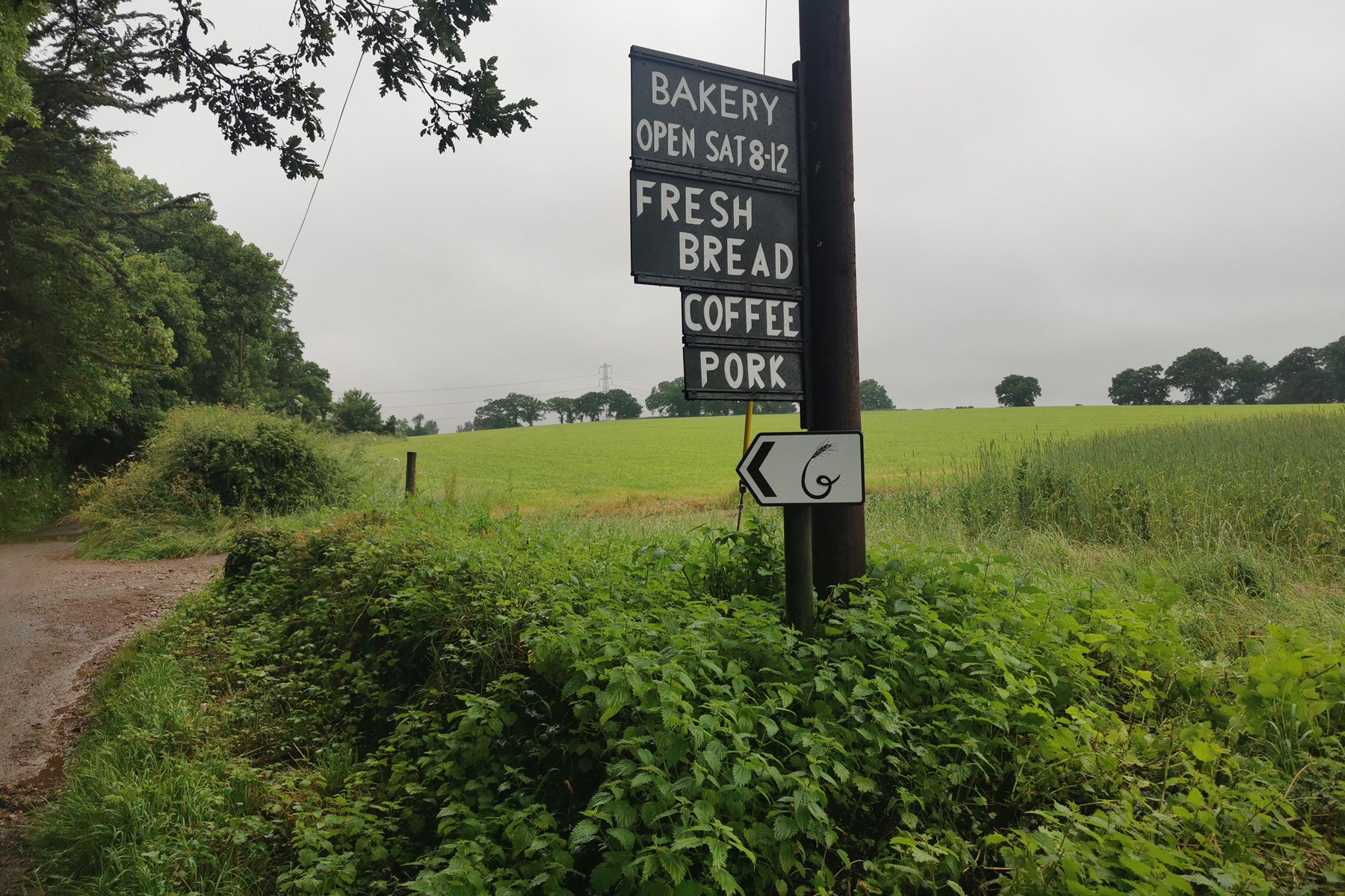 Goltheney Farm sign