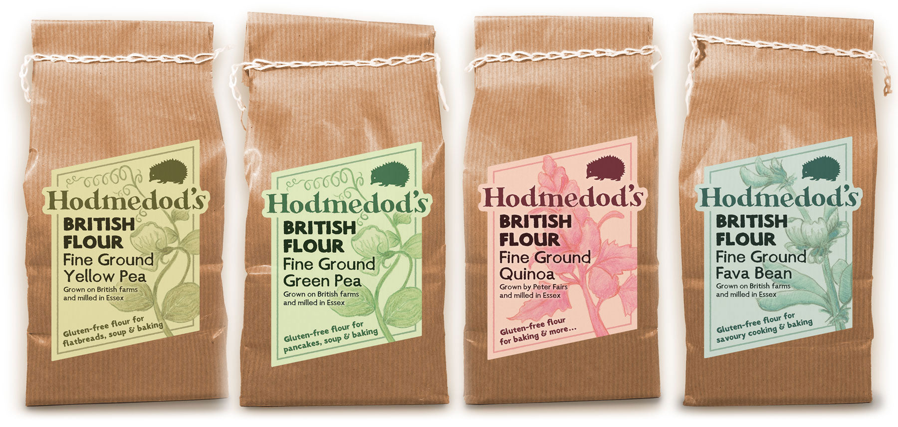 Gluten-free Pulse and Quinoa Flours - Hodmedod's British Pulses and Grains