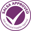 Certified by SALSA for the storing, blending and packing of pulses, grain and assorted products