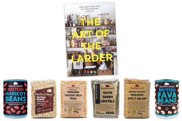 The Art of the Larder Box - Hodmedod's British Pulses & Grains
