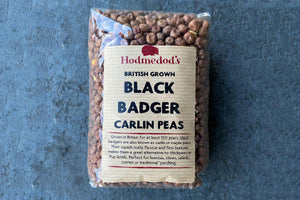 Black Badger Carlin Peas - Hodmedod's British Pulses & Grains