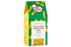 Yellow Pea & Sunflower Seed Crackers - Hodmedod's British Pulses & Grains