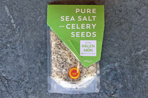 Pure Sea Salt with Celery Seeds - Hodmedod's British Pulses & Grains