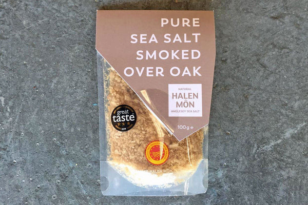 Pure Sea Salt Smoked over Oak - Hodmedod's British Pulses & Grains