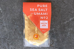 Pure Sea Salt with Umami No 2 - Hodmedod's British Pulses & Grains