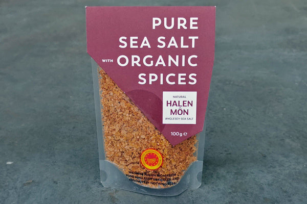 Pure Sea Salt with Organic Spices - Hodmedod's British Pulses & Grains