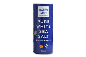 Pure White Sea Salt from Wales, Flakes - Hodmedod's British Pulses & Grains