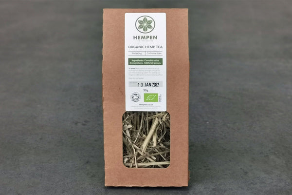 Hempen Co-operative Hemp Stem Tea, Organic - Hodmedod's British Pulses & Grains