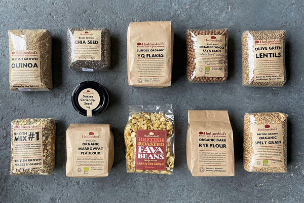 Hodmedod Selection Box - Hodmedod's British Pulses & Grains
