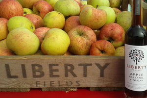 Liberty Fields Apple Balsamic Vinegar - Hodmedod's British Pulses & Grains
