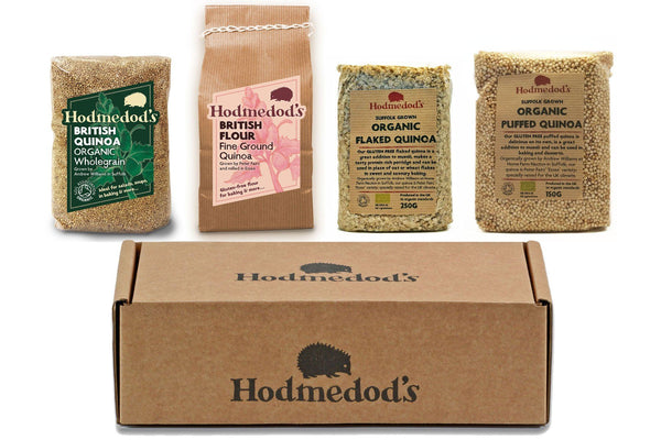 Quinoa Quartet - Hodmedod's British Pulses & Grains