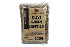 Olive Green Lentils from Hertfordshire - Hodmedod's British Pulses & Grains