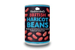 Red Haricot Beans in Water - Hodmedod's British Pulses & Grains