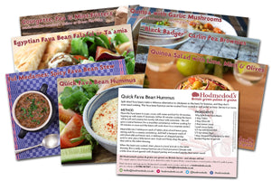 Hodmedod's Recipe Cards - Hodmedod's British Pulses & Grains