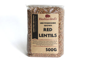 Red Lentils from Hertfordshire - Hodmedod's British Pulses & Grains