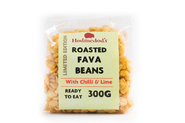Roasted Fava Beans - Chilli & Lime - Hodmedod's British Pulses & Grains