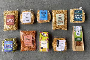 Snack Selection Box - Hodmedod's British Pulses & Grains