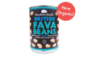 Whole Fava Beans in Water, Organic - Hodmedod's British Pulses & Grains