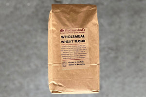 Wheat Flour, Stoneground Wholemeal, Organic - short-dated bargain, 25% off - Hodmedod's British Pulses & Grains