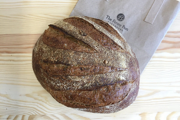 Holkham Malted Sourdough Loaf - Hodmedod's British Pulses & Grains