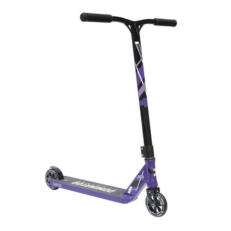 Purple Black Dominator Stunt Scooter - Main View