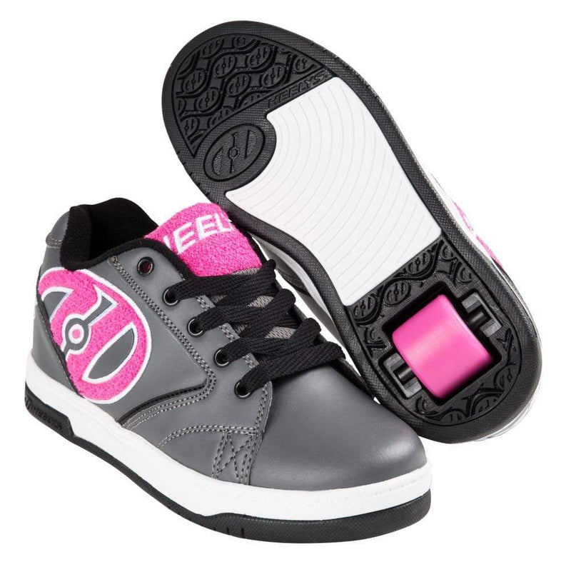 Heelys Propel Terry Grey Pink One Wheel Heelys - Main View