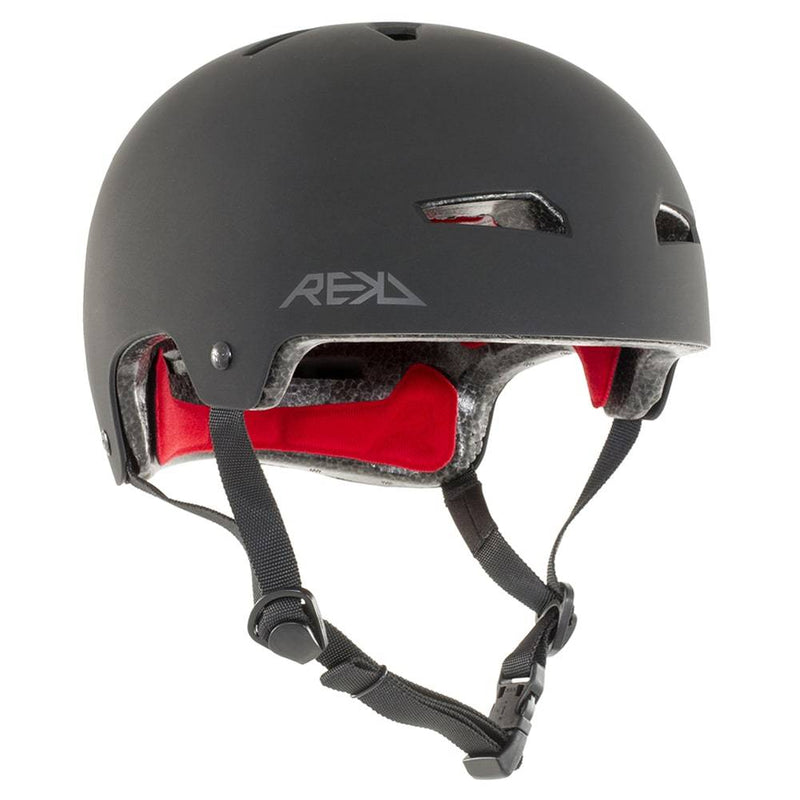 Black REKD Helmet - Main View