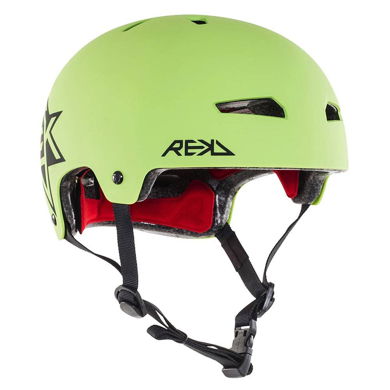 Green Black REKD Helmet - Main View