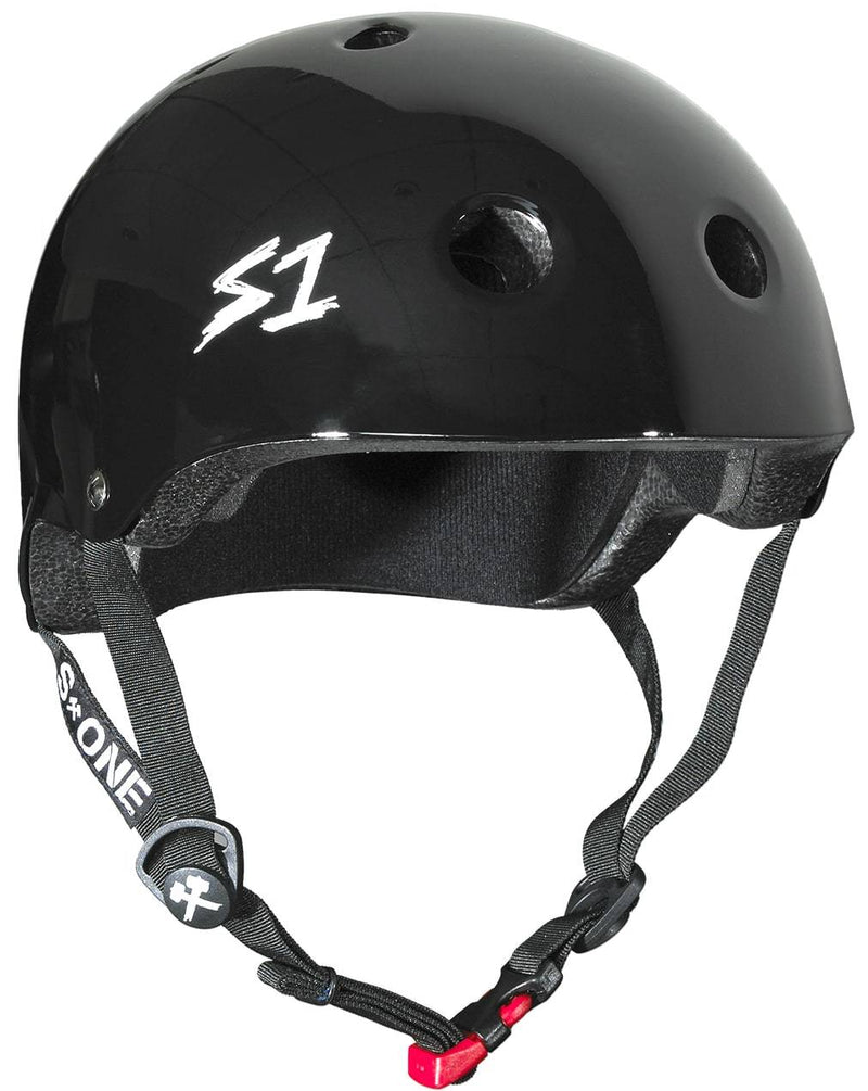 Black S1 Skate Helmet - Main View