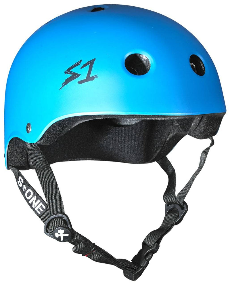 Matte Blue S1 Skate Helmet - Main View