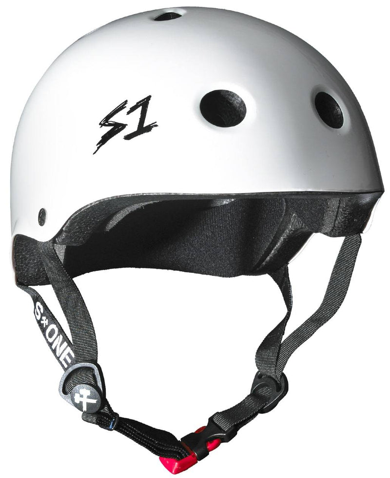 White S1 Skate Helmet - Main View