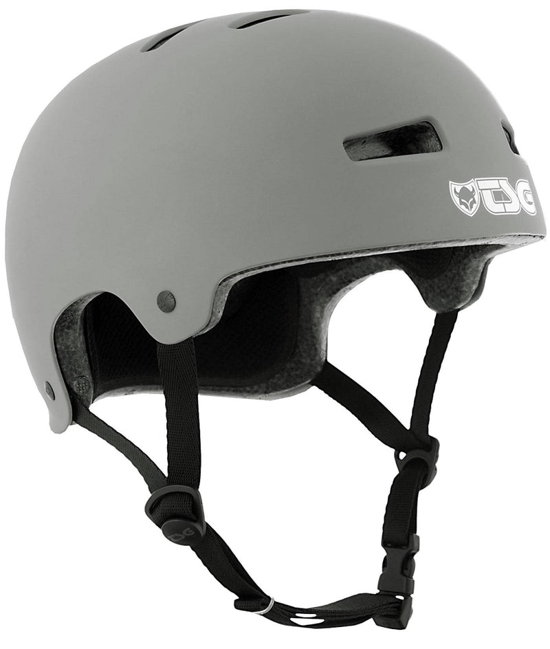 Grey TSG Skate Helmet - Main View