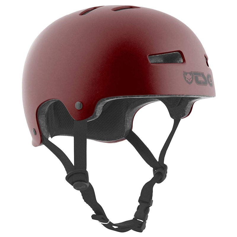 Red TSG Skate Helmet - Main View
