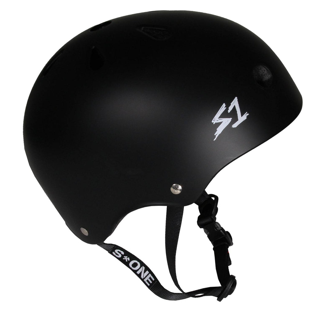 Matt Black S1 Helmet - Main View