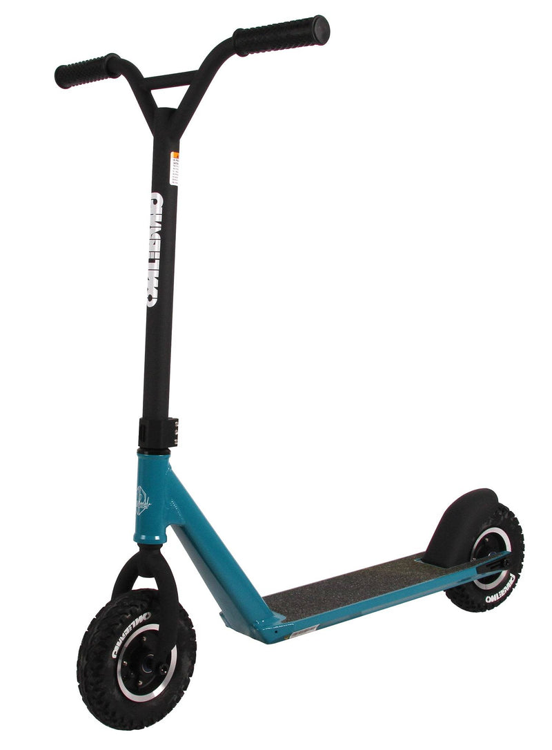 Blue Phase Two Dirt Scooter - Main View